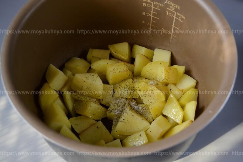 тушеная картошка с фрикадельками рецепт с фото